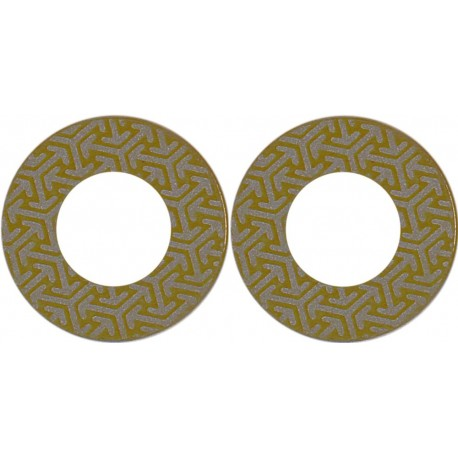 Self-adhesive diamonds 400, polishing