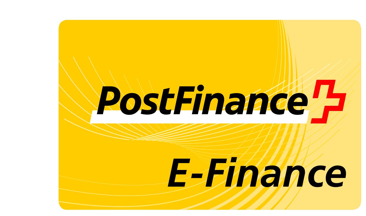 moyen de paiement : postfinance E-finance
